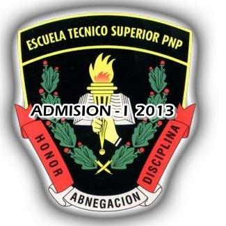 ... PNP Cuadro de Merito Titulados todas las sedes 6 de Agosto 2013