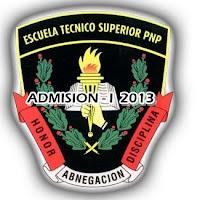 PNP Cuadro de Merito Titulados todas las sedes 6 de Agosto 2013
