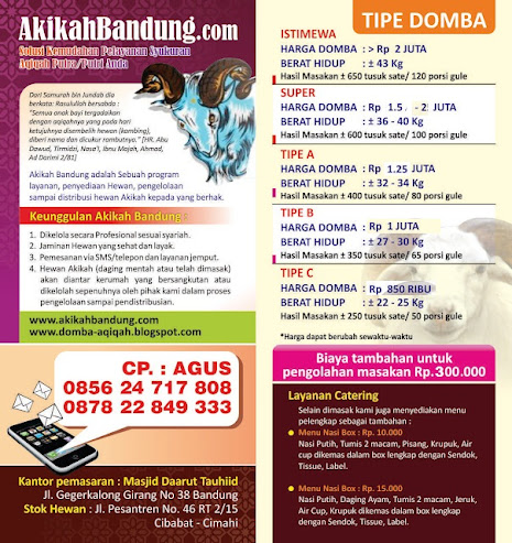 Akikah di Bandung
