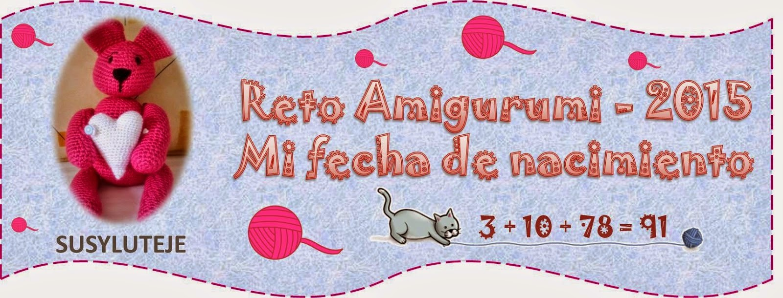 RETO AMIGURUMI ♥