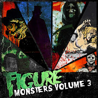 Artwork figure monsters volume 3