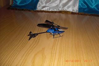 helicóptero por infrarojos