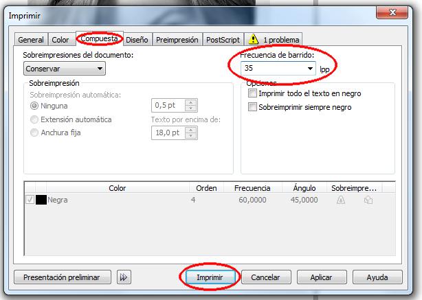 AldLogos: Como imprimir tramas para serigrafia en corelDraw sin ...
