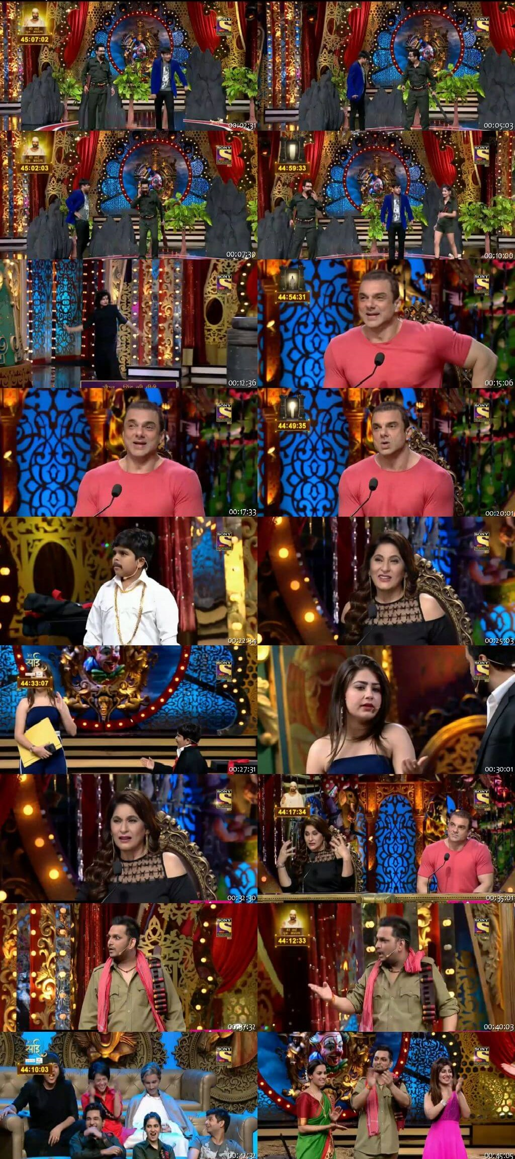 Screen Shot Of Comedy Circus 28th October 2018 Episode 14 300MB Watch Online