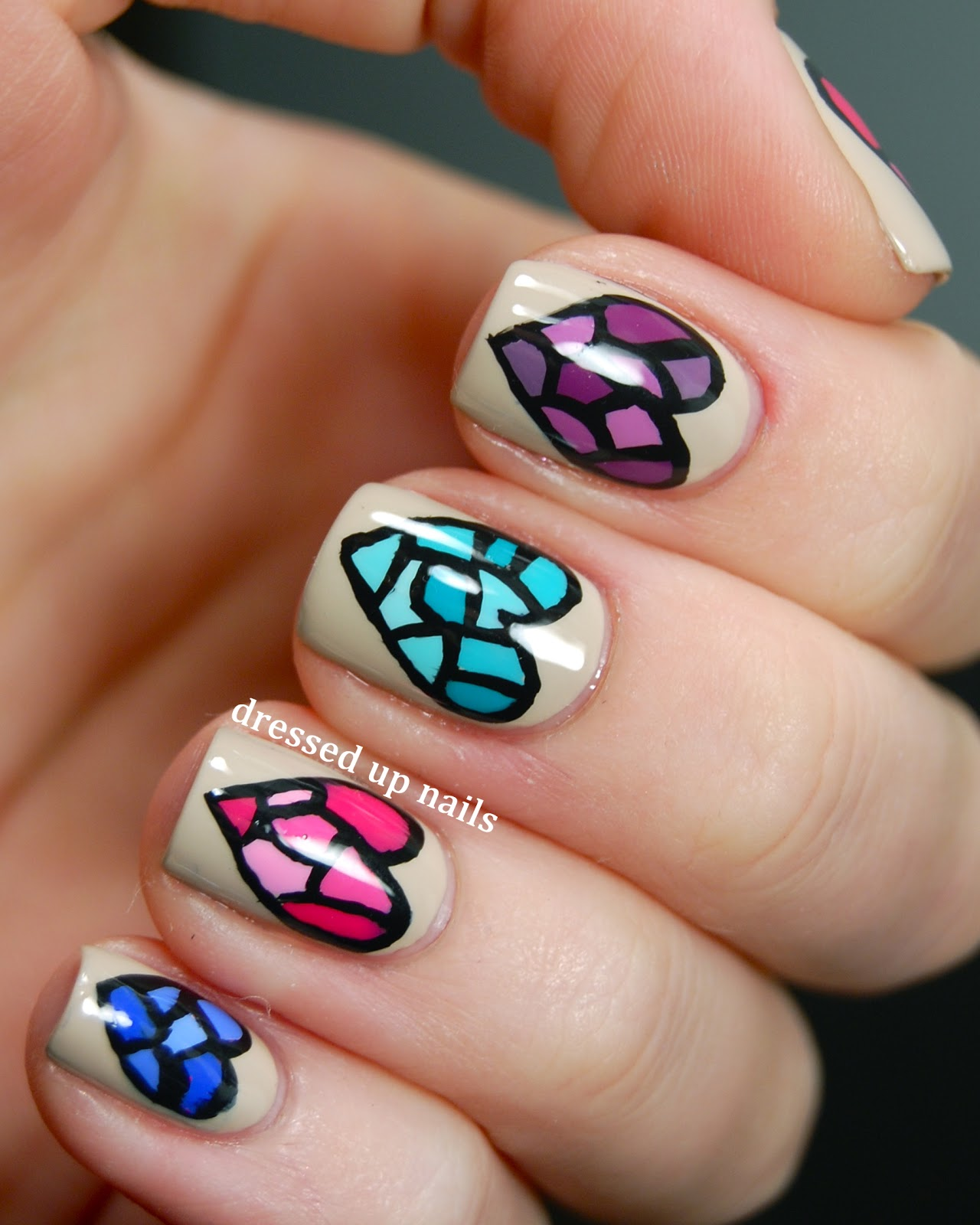Stained Glass Nail Art: There's Something About Geometry