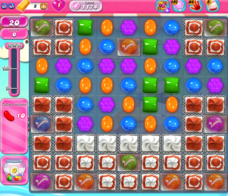 Candy Crush Saga 1174