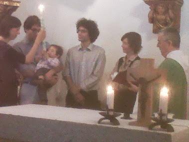 2.9.2012 Bateig del IVAN GIORGIS a Santa Helena D'Agell