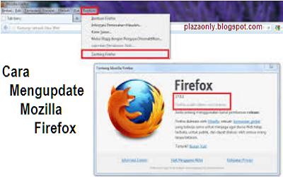 Cara Mengupdate Mozilla Firefox