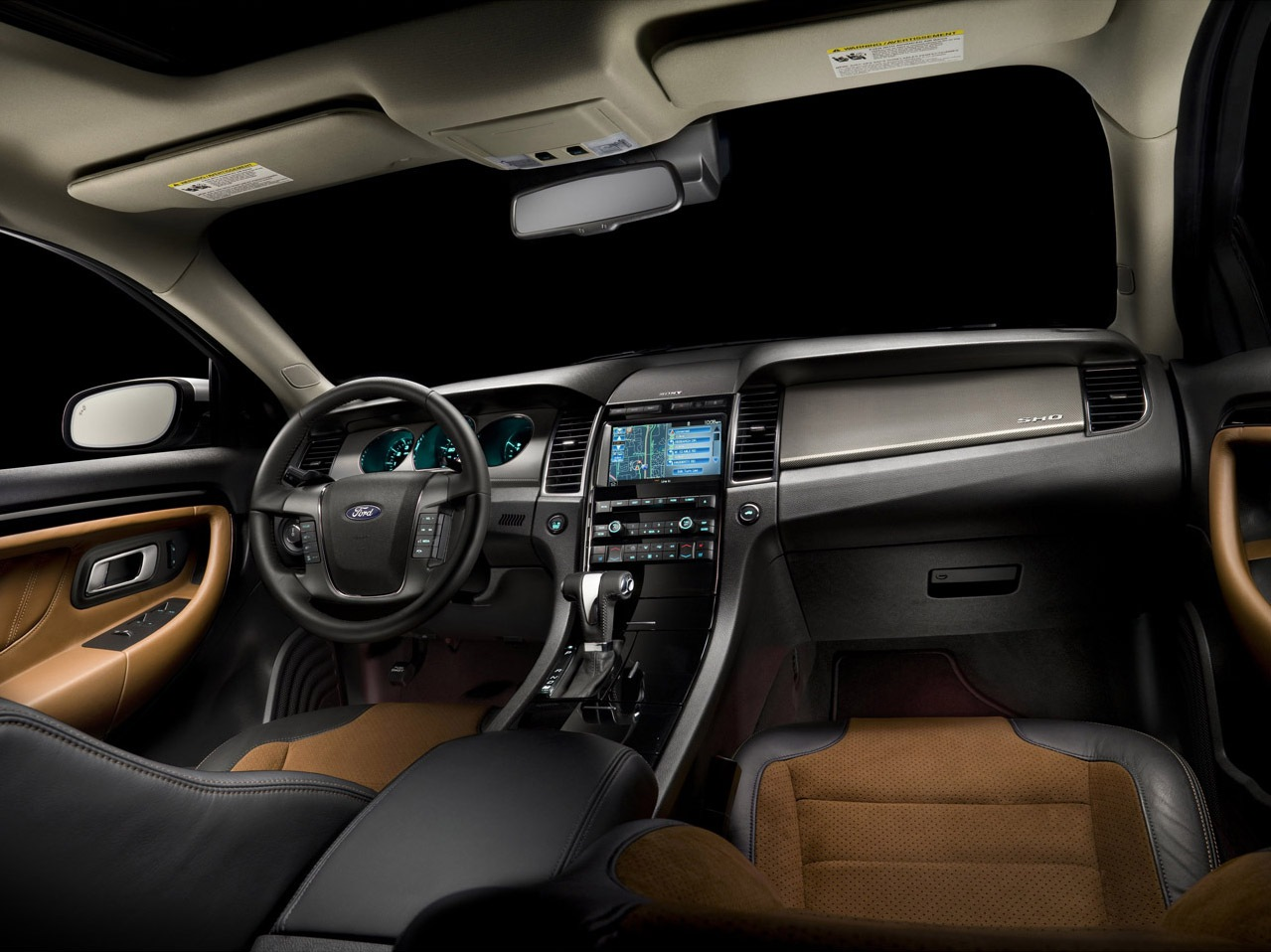 2012 ford taurus sho review spec picture and price