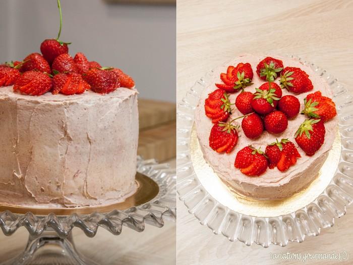 layer cake fraise anniversaire
