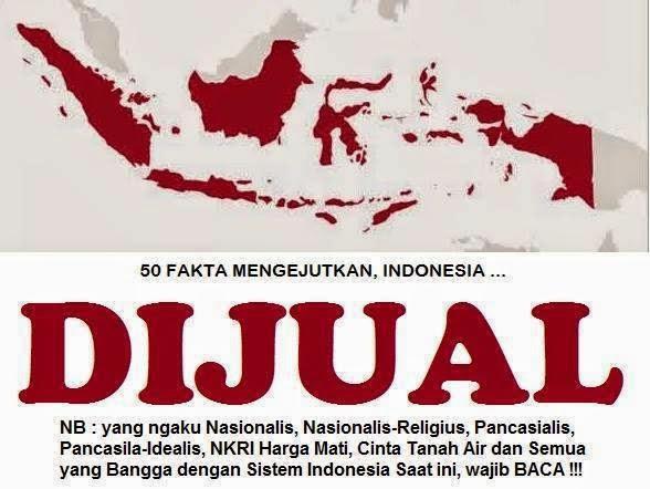 Wah... Indonesia Ternyata Sudah Terjual, Dan Siap Jadi Budak Cina?