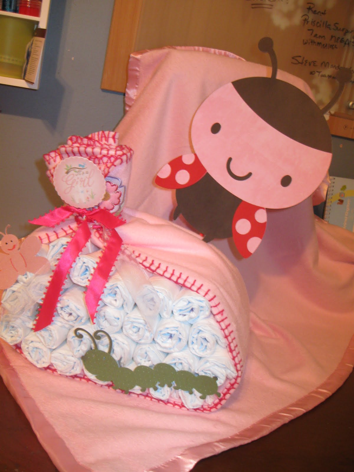 charlotte 39 s creations ladybug baby shower theme