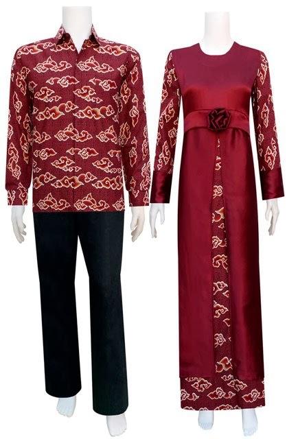 Baju Pasangan Batik Remaja Lebaran Online