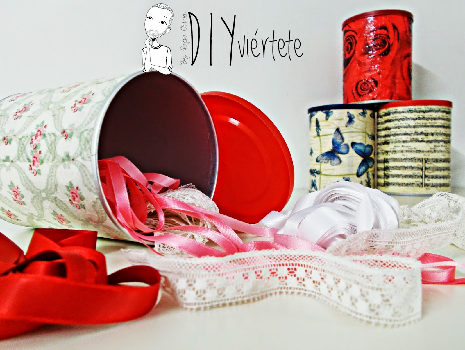DIY-botes-decoupage-servilletas-cola blanca-ideas regalo-reciclar-reutilizar (1)