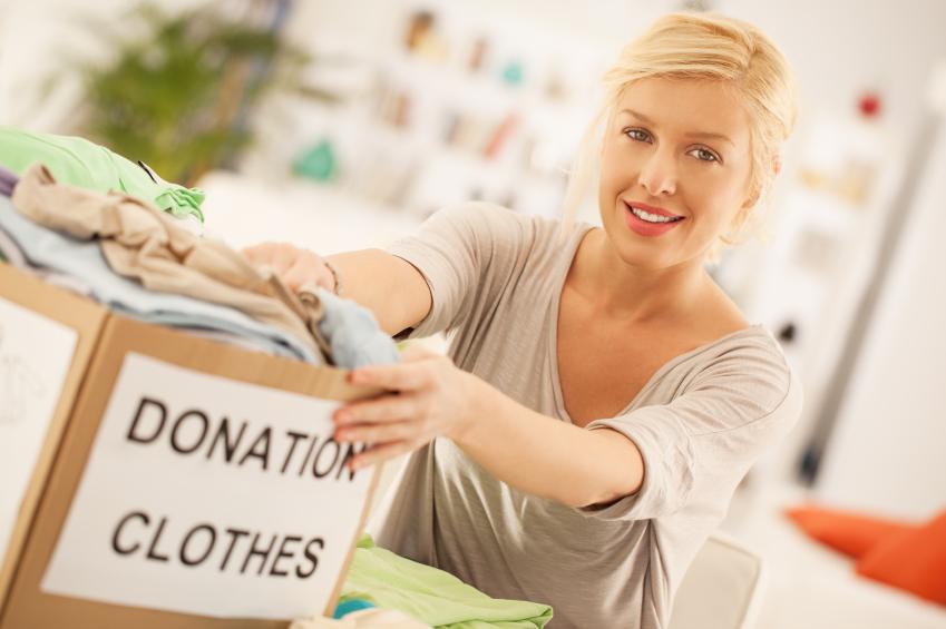 clutter, declutter, de-clutter, decluttering, de-cluttering, organising, clothes