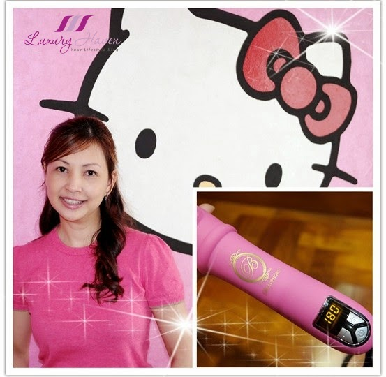 hello kitty pink beauphoria wonder women series curler