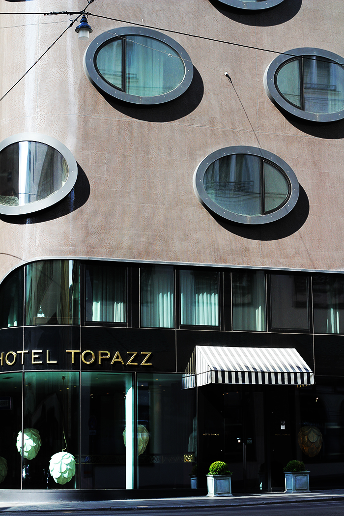 Fashion and style vienna hotel topazz for Designhotel wien