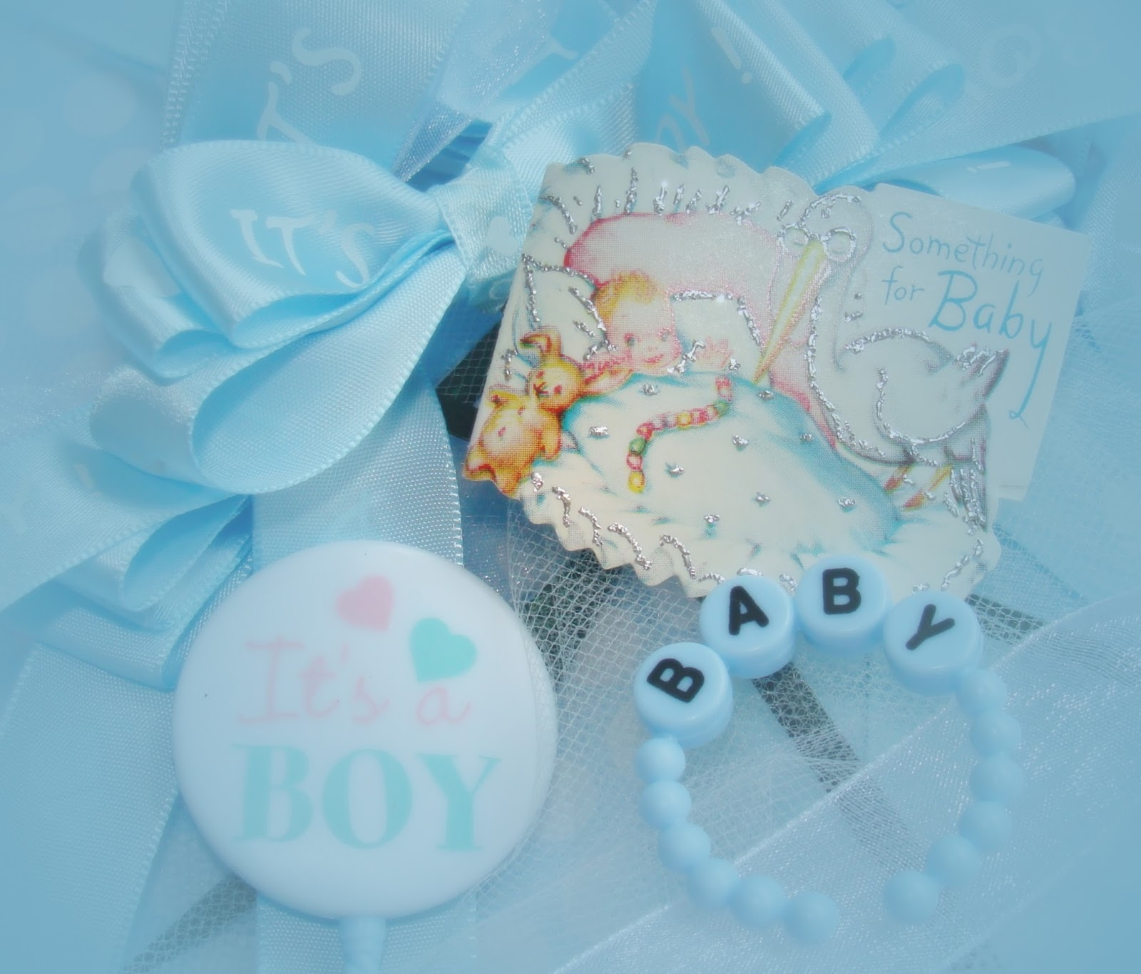 viewing gallery for baby boy shower backgrounds