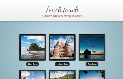 Tutorial A Touch Optimized Gallery Plugin whit TouchTouch