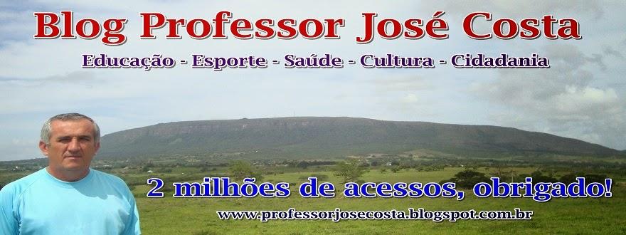 Professor José Costa - 34 anos dedicados à Educação