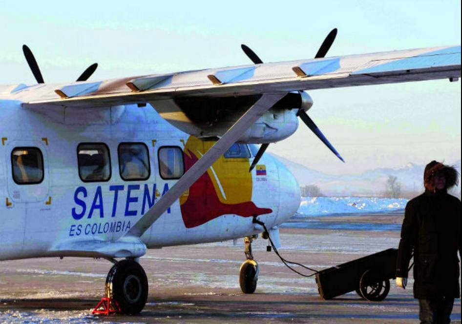 Harbin Y-12 Satena Colombia