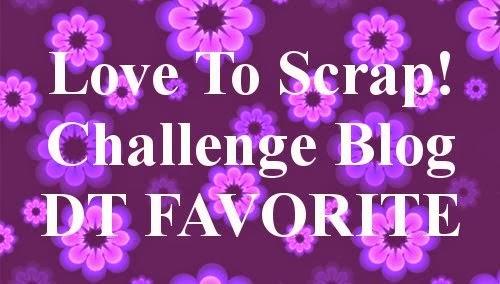 Love to Scrap DT pick #35