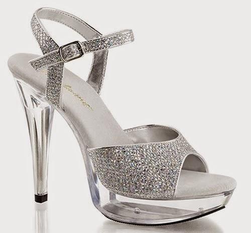 USA Transparent Shoes Sandals Collection