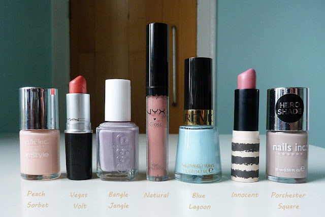 lipstick and nail varnish spring picks
