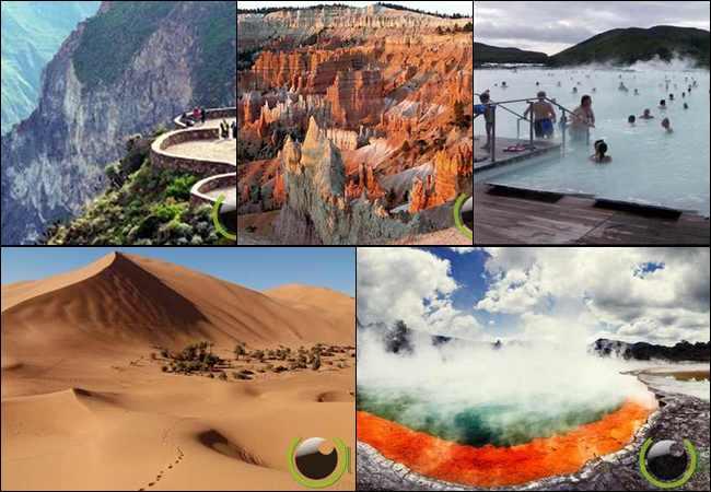 10 Pemandangan Luar Biasa yang tidak Terkenal di Dunia