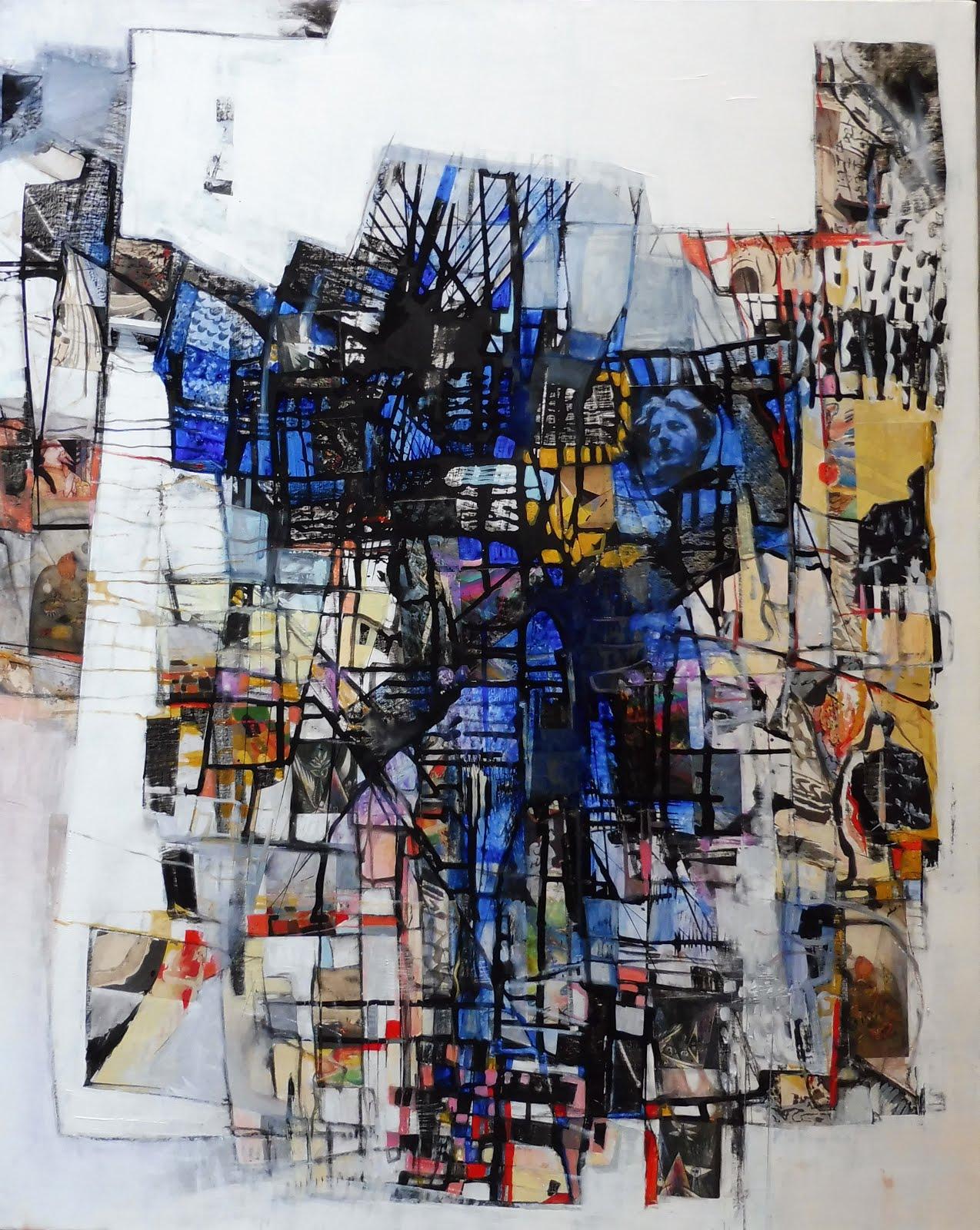 Du bleu à l'âme - 73 x 92 cm - 2020