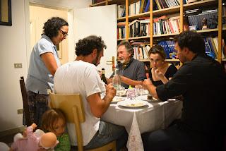 op zoek naar italie, eten, cena italiana, reizen