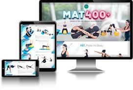 Livro Digital Mat Pilates e Exercícios de Solo +400