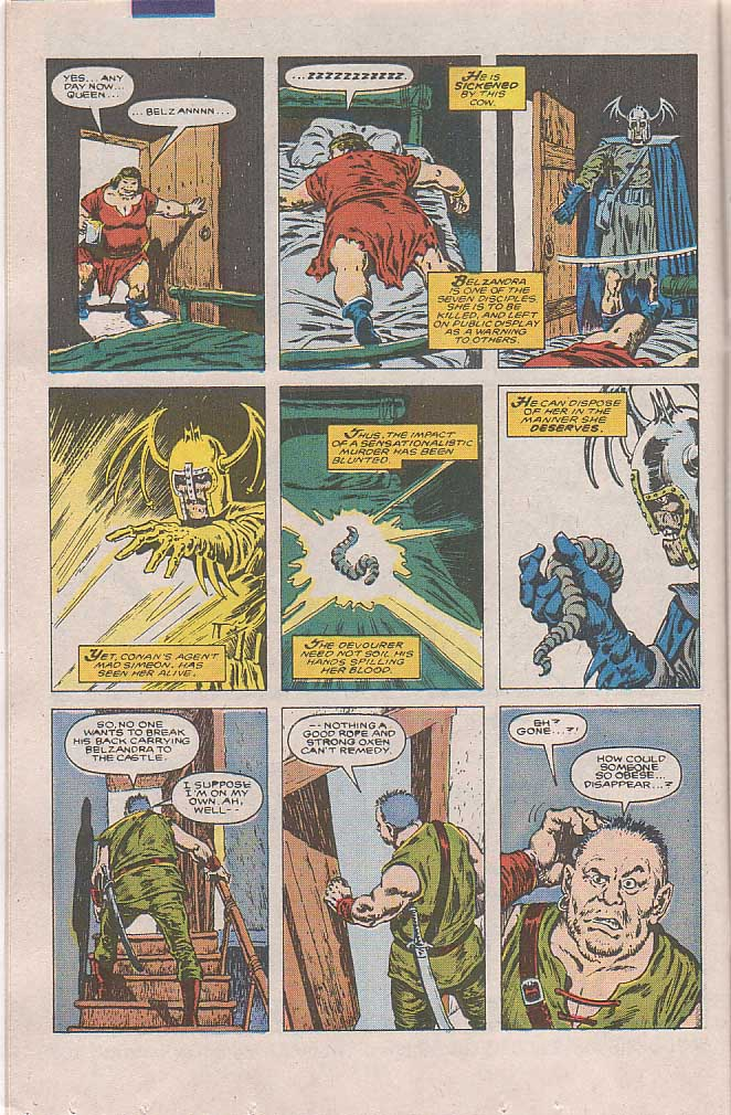 Conan the Barbarian (1970) Issue #189 #201 - English 11