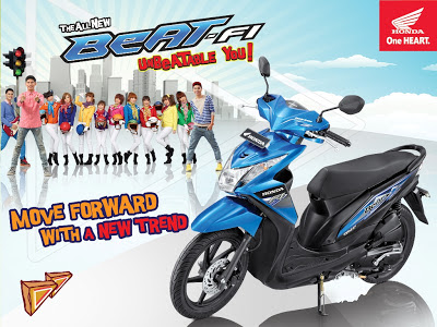 honda New Beat 2013 terbaru