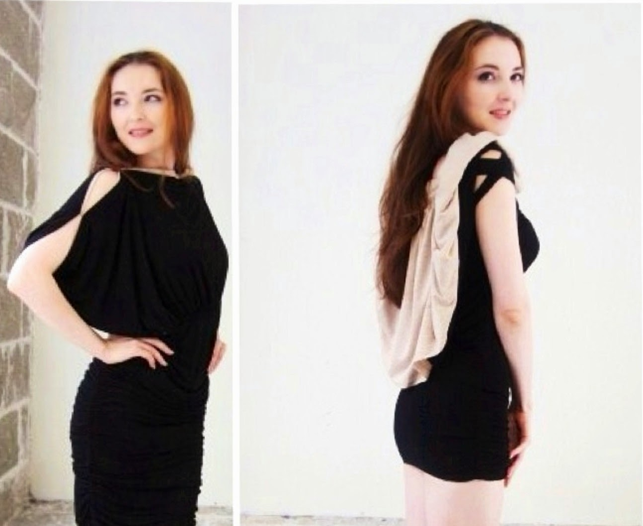Сшить двустороннее платье