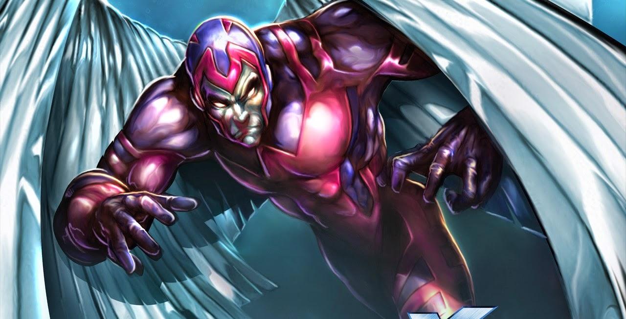 Bryan Singer revela novas artes conceituais de Angel em X-Men: Apocalipse