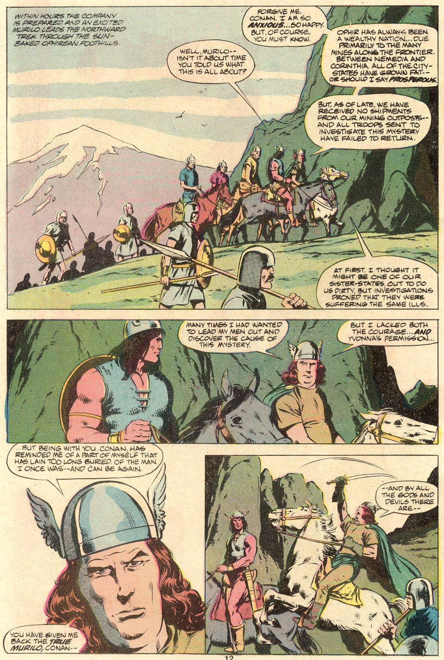 Conan the Barbarian (1970) Issue #123 #135 - English 10