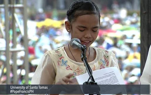 12-year old asked Pope Francis: Why does God allow this to happen?