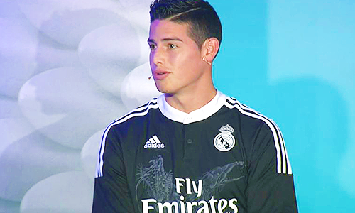 James Rodriguez Hairstyle Name Pictures