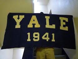1941's  YALE UNIVERSITY  SIGN