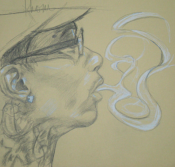 Drawings Of People Smoking Weed | www.pixshark.com ...