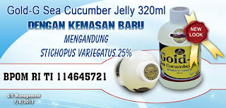 Obat Herbal Jelly Gamat Gold G