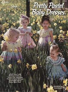 Crochet Pretty Pastel Baby Dresses