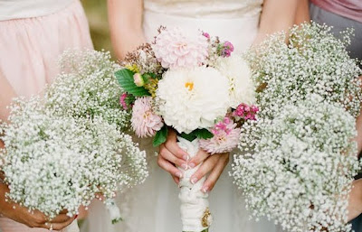 Baby Breath Wedding Bouquets