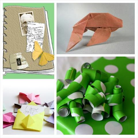 Ide Kerajinan Tangan Unik dari Kertas Kado