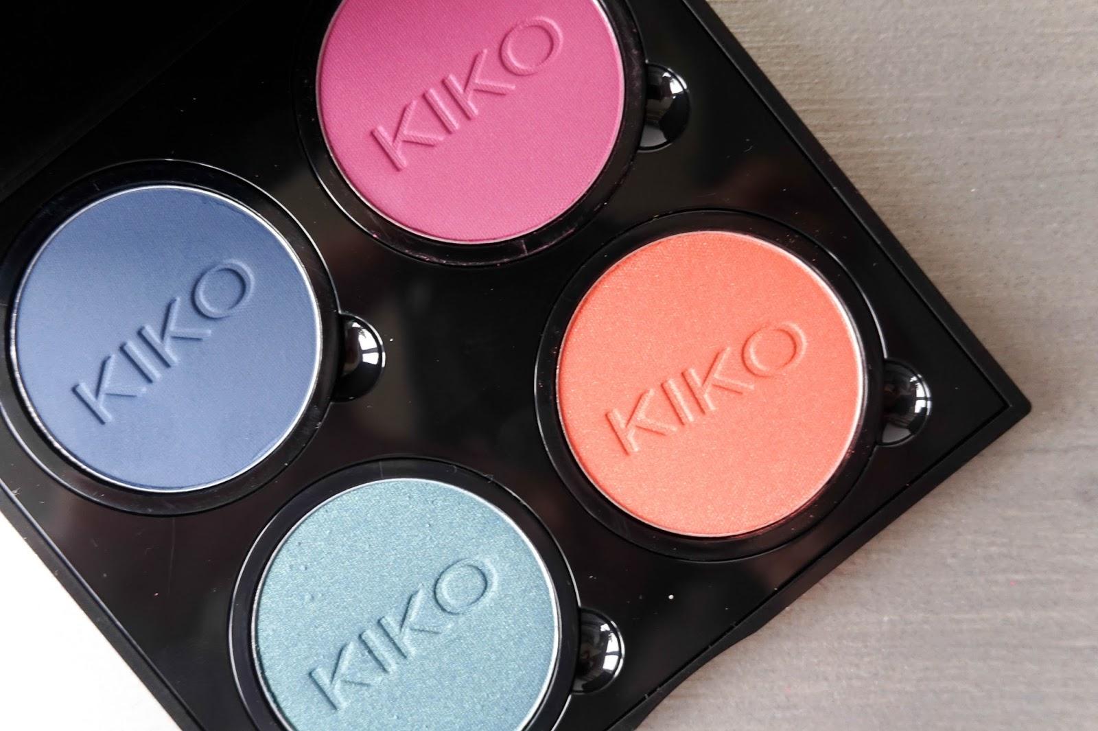 KIKO Infinity Eyeshadows