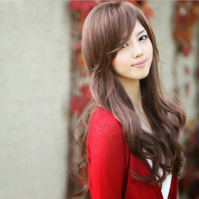 Wonderful Chinese Girl Hairstyle 2014