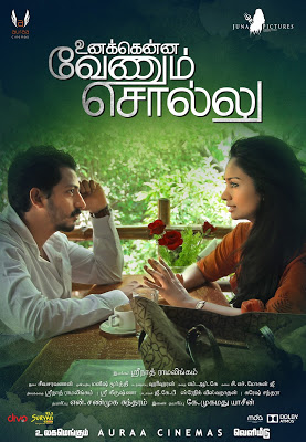 Watch Unakkenna Venum Sollu (2015) DVDScr Tamil Full Movie Watch Online Free Download