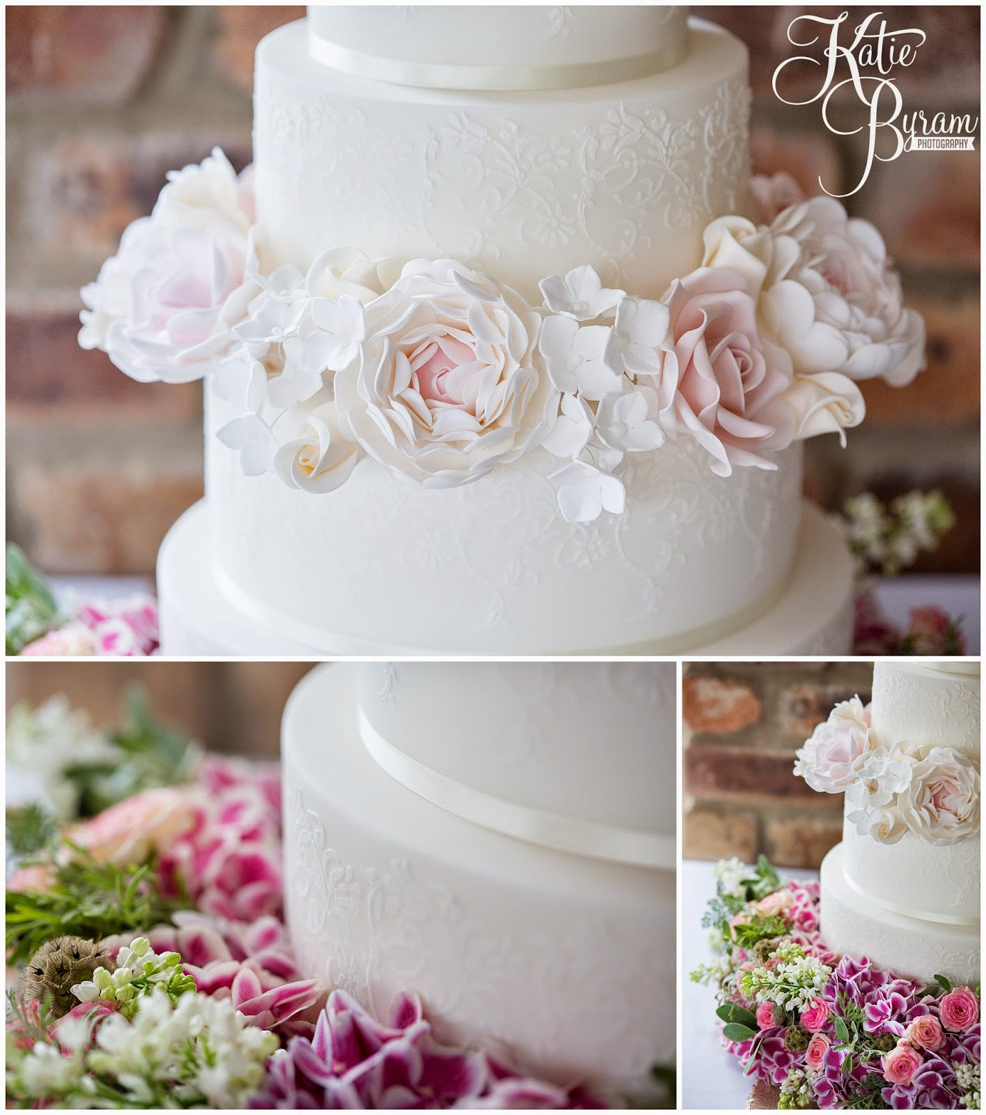 bels flowers, the master cakesmith, dawn cake maker, newton hall, ellingham hall, alnwick garden, northumberland wedding cake, northumberland wedding, katie byram photography