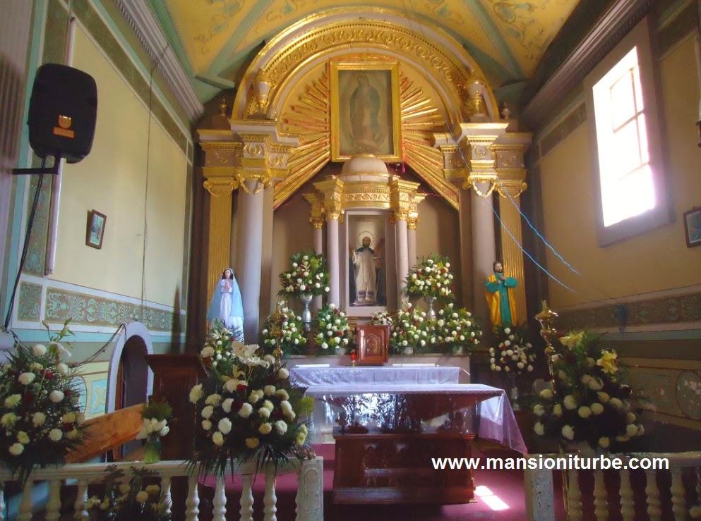 Tocuaro Michoacan Mexico: The church